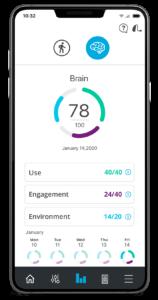 Starkey Thrive app voorbeeld